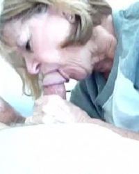 ms debbie enjoys giving head
