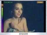 Super Sweet Girlfriend on Webcam