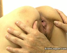 Perfect bodied Japan princess Iori Miduki having pussy vibrated hard