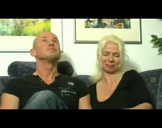 German Blonde Milf Threesome by TROC