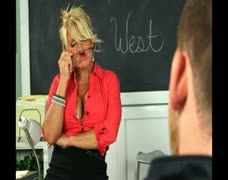 COCK CRAZED MILF TEACHER!!!