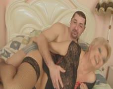 Beautiful Blonde Italian Shorthair-BBW-Granny fucked