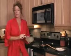 HOT FUCK #101 (Super-duper Stepmom in the Kitchen)