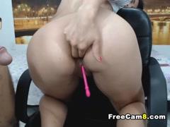 Beautiful Ass Latina gets First Time Anal