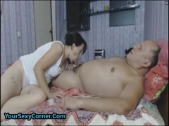 Mature Wife Pussy Creampied After Fucking Hard Husband