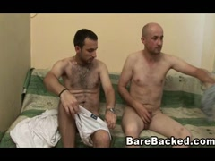 Two Gays Suck Cock And Bareback Sex