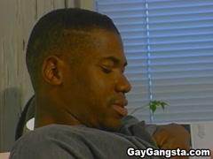 Ebony Gangster Enjoy Intense Hardcore anal penetration