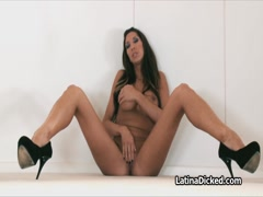 Titty Latina Kayla loves to suck a fine dick