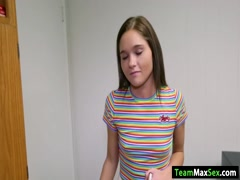 Teen Zoey gets her pussy banged