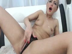 Caught My Blonde Slut Wife On Cam