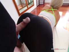 Cute Blondie Teased Her Man With Her Ass