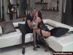 Redhead Lyen gets her ass fucked
