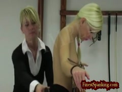 Whipped Back and Spanked Sexy Butts