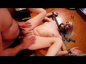 Squirting step sisters anal fucking threesome